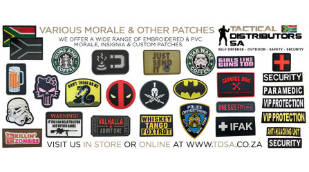 New PVC Velcro Morale Patches Have Arrived!