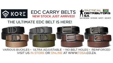 New Kore Essentials EDC Belt Shipment Has Arrived!