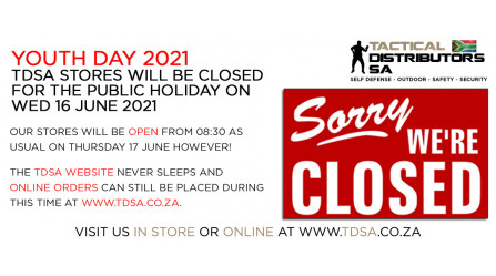 TDSA Stores Will Be Closed for the Public Holiday on 16/06/2021