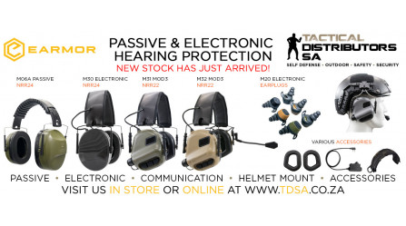 A New Earmor Passive and Electronic Hearing Protection Shipment Has Arrived!