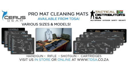 A New Cerus Gear Promat Cleaning Bench Mat Shipment has Arrived!