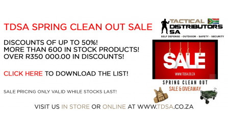 TDSA 2021 Spring Clean Out Sale & Giveaway