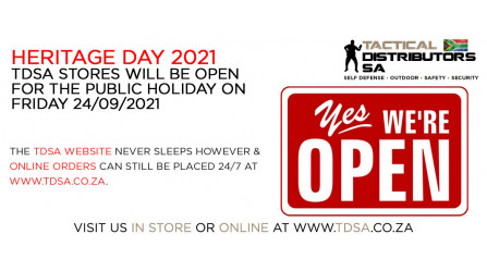 TDSA Stores Will Be OPEN for the Public Holiday on 24/09/2021
